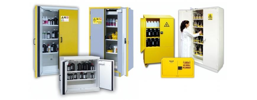 armoire de sécurité anti-feu pour produits inflammables