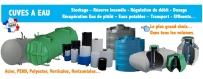 Cuves, citernes et réservoirs d'eau de pluie - Ingeshop