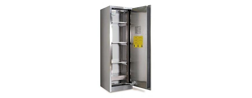 Armoires de sécurité pour le stockage de produits radioactifs