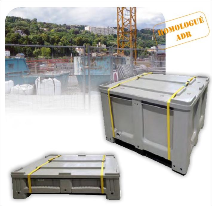 Bac ADR pour le transport de batteries Lithium/INGESHOP