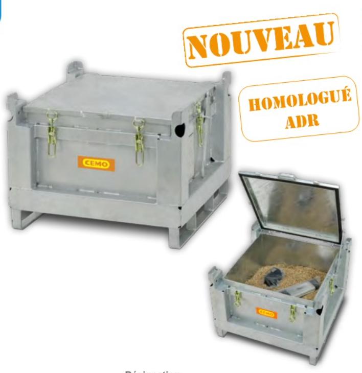 Coffre de stockage et transport Batterie Lithium/INGESHOP
