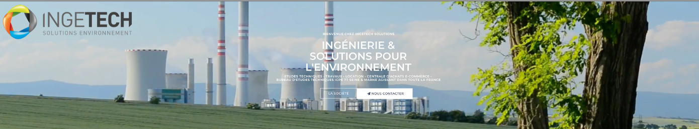 SITE INGETECH Solutions Environnement/INGESHOP